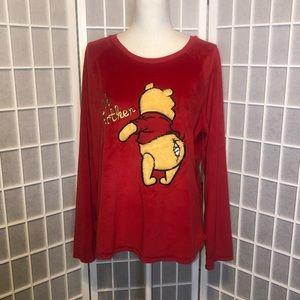 Winnie the Pooh Oh Bother sleepwear shirt XL